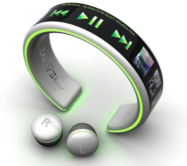 Wrist wear MP3 Player