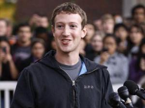 Zuckerber anuncia pelo facebook a criação do prêmio.