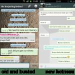nexusae0 old 2 - Whatsapp ganha novo visual em atualização