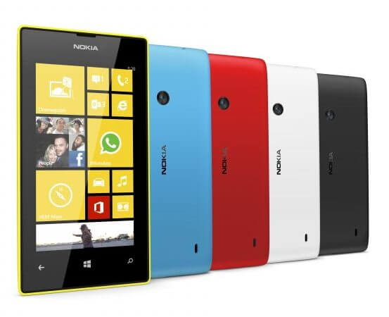 600 nokia lumia 520 color range 1 - Nokia Lumia 525 será o sucessor do Windows Phone mais vendido do mundo (novas imagens!)