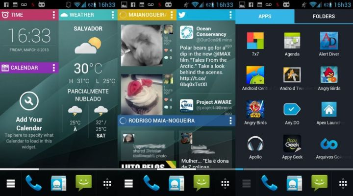 chameleon beta s2 720x400 - Launchers para Android: Chameleon 2 beta