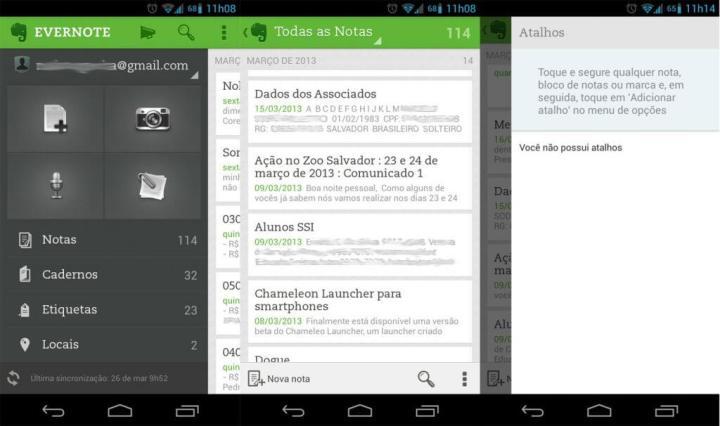 evernote1 720x426 - Evernote 5.0 é disponibilizado para o Android