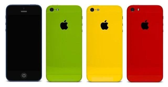 iPhone pode ter versões mais baratas e coloridas