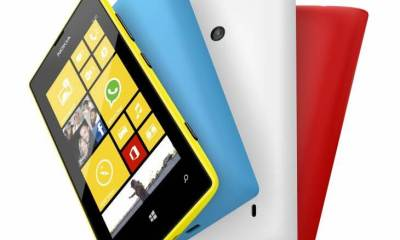 700 nokia lumia 520 yellow cyan white red - Nokia Lumia 520 chega ao Brasil por R$ 599