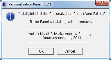 aero patch1 - Tutorial: Como alterar o papel de parede no Windows 7 Starter Edition