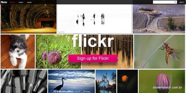 New Flickr Novo