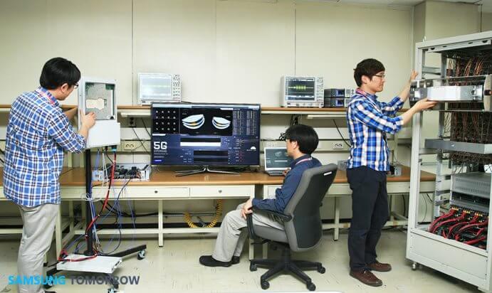 Samsung cria redes 5G