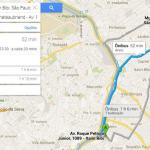 transporte público - Preview: Testamos o Novo Google Maps