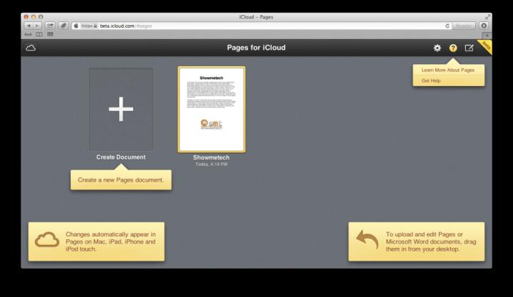 "Screen Shot 2013 06 13 at 4.18.57 PM 720x417 - Apple libera ""iWork for iCloud"" para desenvolvedores"