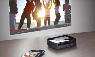 sagemcom philips picopix ppx 3610 image 01 - Philips apresenta projetor PicoPix com 120 polegadas, conexão WiFi e Android