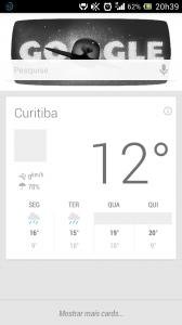 Google Now 168x300 - Primeiras impressões: Jelly Bean para Xperia P