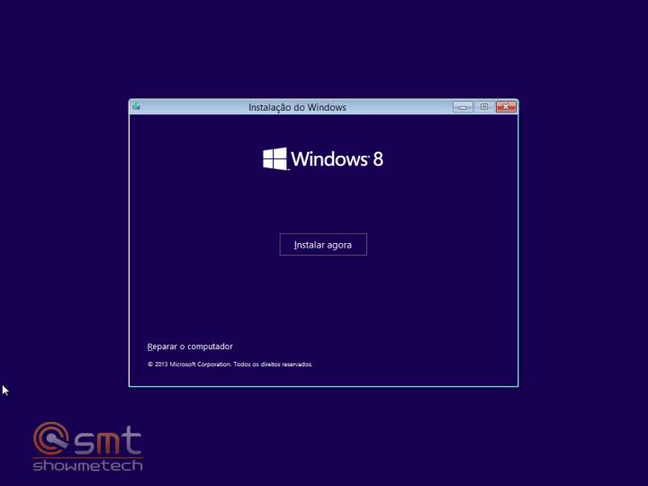 Instalação 720x540 - Windows 8.1: Primeiras Impressões