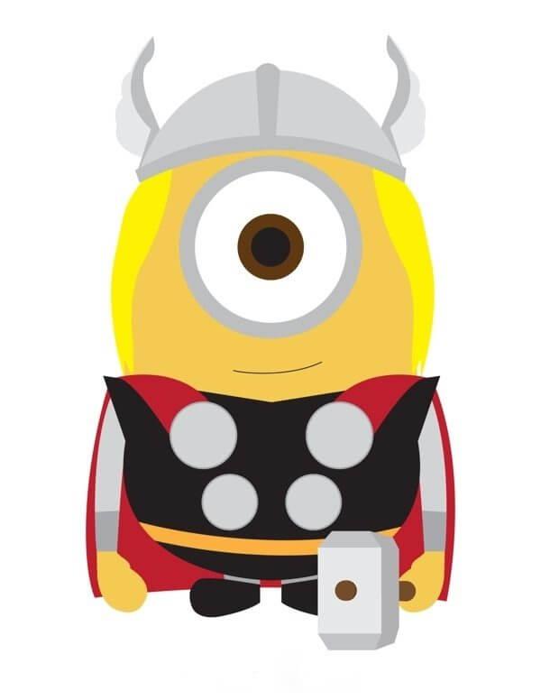 Minion Thor
