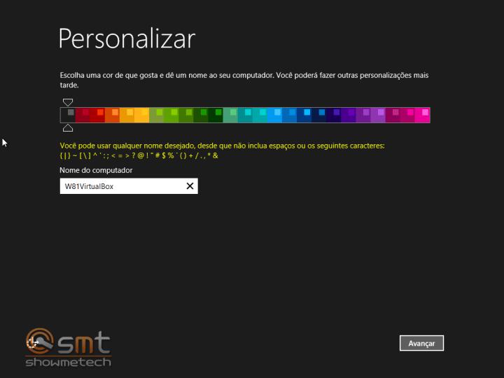 Personalizar Cores 720x540 - Windows 8.1: Primeiras Impressões