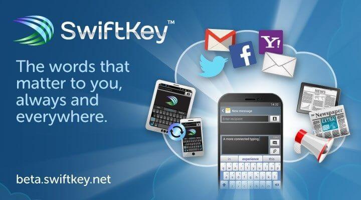 Swiftkey cloud - Swiftkey lança teclado que salva dicionário na nuvem