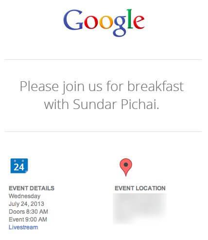 google invite1 - Google anunciará novidades no dia 24 de julho