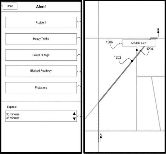 maps1 720x670 - Patente da Apple indica aplicativo semelhante ao Waze