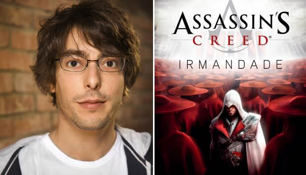 Bienal do Livro Corey May Assassins Creed