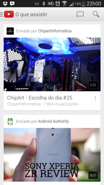 YouTube Android v5.0.21 3
