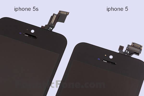 iPhone 5 and 5S digitizer - Vazam imagens do iPhone 5S