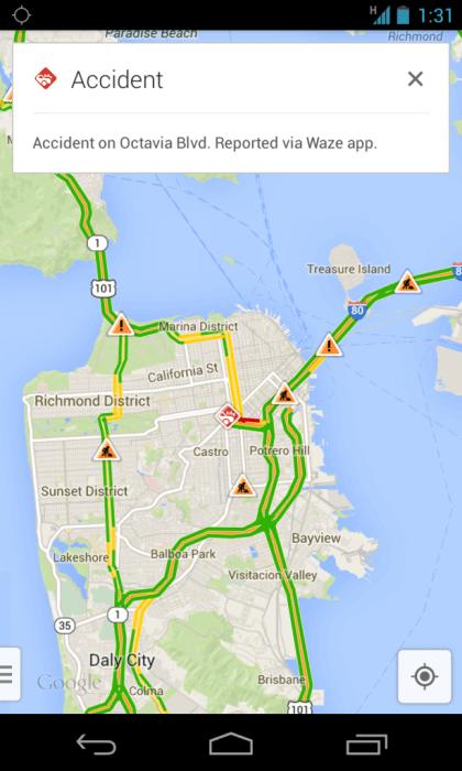 waze incident alertas 600x1000 - Google incorpora alertas sociais do Waze ao Google Maps