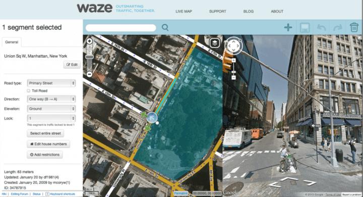 waze incident alertas editor satélite google 720x390 - Google incorpora alertas sociais do Waze ao Google Maps
