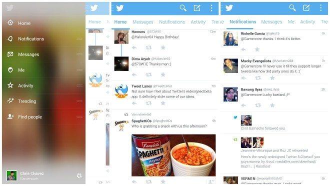 Twitter beta 5.0