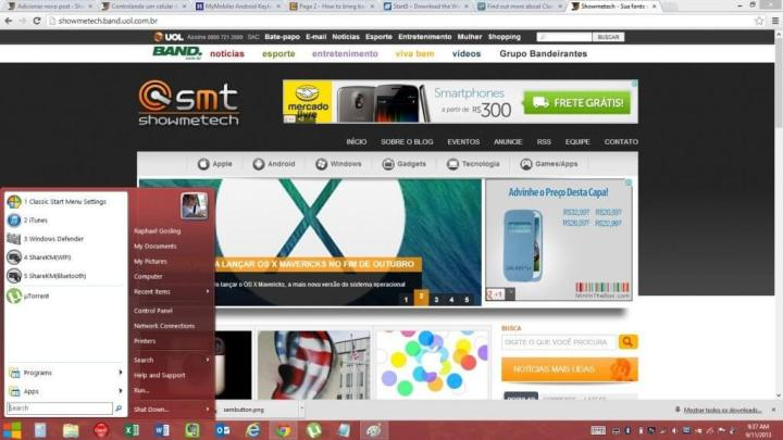 classic shell 720x405 - Windows 8: como trazer o menu iniciar de volta