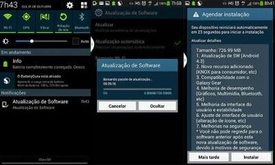 4 - Samsung Galaxy S4 4G (GT-i9505) brasileiro recebe atualização para o Android 4.3