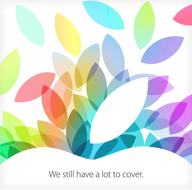 Convite da Apple para evento no dia 22 de outubro