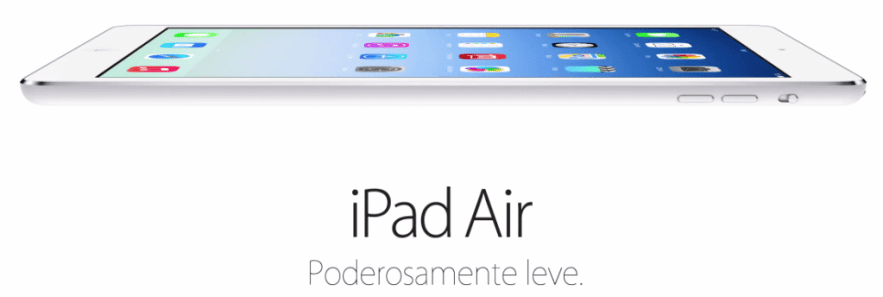 iPad Air da Apple