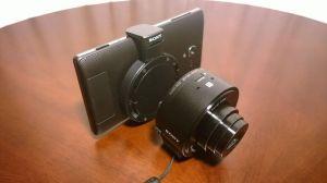 Sony DSC QX10 14 300x168 - Hands-on: Sony DSC-QX10, câmera WiFi para smartphones