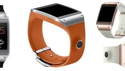 page galaxygear - Samsung Galaxy Gear ganhará suporte a mais aparelhos