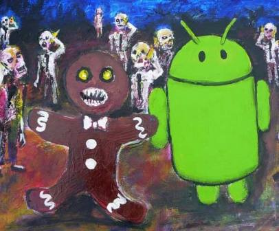 Veja o Easter Egg que retrata Zumbis no Android Gingerbread
