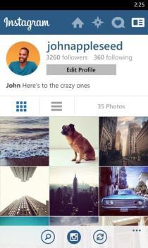Profile verge super wide 600x1000 - Vídeo revela novo Instagram para Windows Phone: aplicativo universal rodará no Windows 10 Mobile