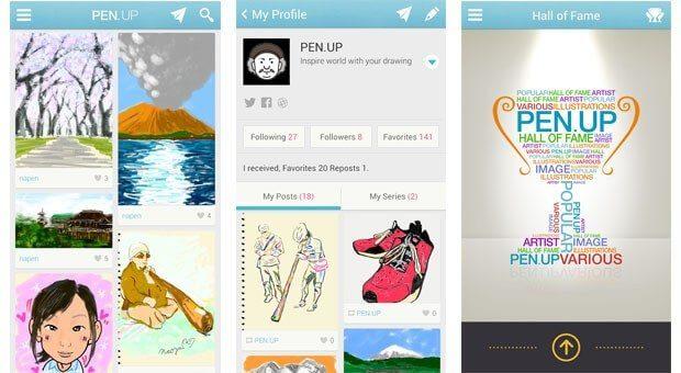 samsung pen.up .2013 10 02 01 - Samsung lança rede social Pen.Up