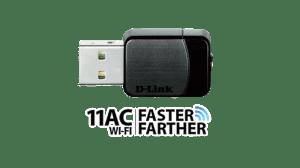 DWA171logo 300x168 - Review: Roteador D-Link DIR 868L com tecnologia WiFi ac