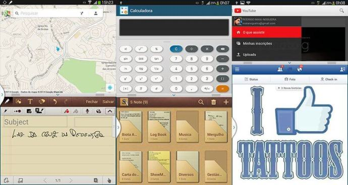 imagem note8 007 multitarefas 720x384 - Review: Samsung Galaxy Note 8.0 (GT-N5100)