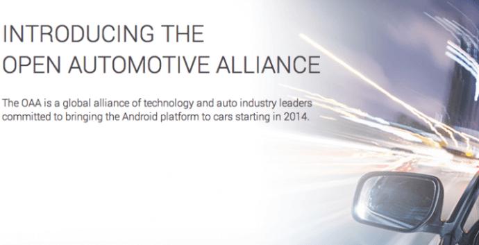 Captura de Tela 2014 01 06 às 20.34.09 720x369 - Google quer levar o Android para o carro com a Open Automotive Alliance