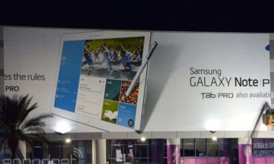 Samsung Galaxy Note Pro e Tab Pro vazam
