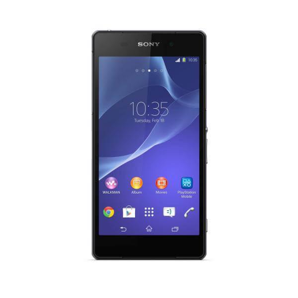 11 Xperia Z2 Black Front - Sony anuncia novos wearables, Xperia Z2, Z2 tablet e Xperia M2