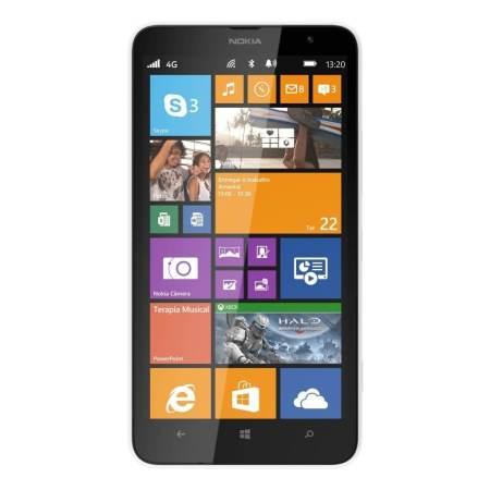 Nokia Lumia 1320 branco frente baixa - Nokia lança smartphones com tela de 6 polegadas