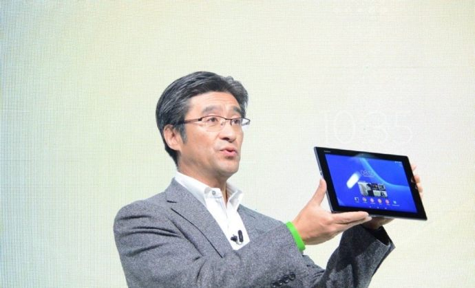 Sony Xperia Z2 tablet 720x438 - Sony anuncia novos wearables, Xperia Z2, Z2 tablet e Xperia M2