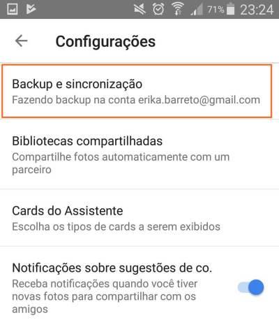 Tutorial: Impedindo que o Google+ Auto Backup salve fotos do Whatsapp 7