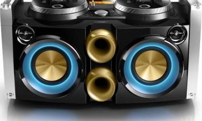 Philips FWP3200 1 - Philips lança aparelho de som dual dock para festas e DJs