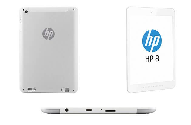 HP 8 Tablet Android