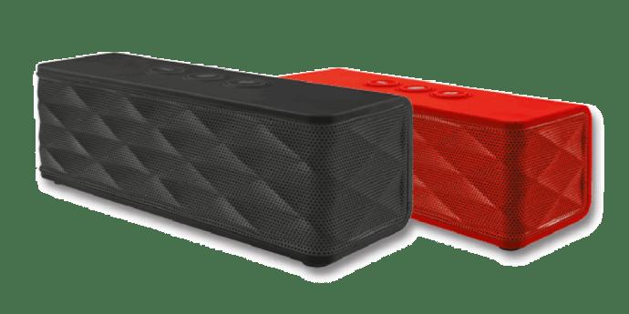 215712 382125 caixa de som   jukebar wireless speaker   preta e vermelha 2 720x360 - Review: caixa de som portátil Jukebar