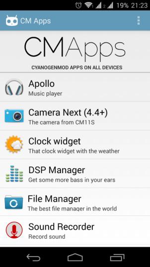 CM APPs ShowMeTech 562x1000 - Tenha os aplicativos da CyanogenMod na sua ROM favorita com o CM Apps
