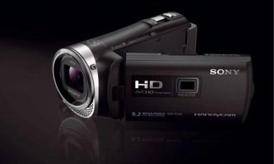CX44540 44541 BK image1 1200 - Sony lança nova filmadora Full HD com projetor integrado e WiFi
