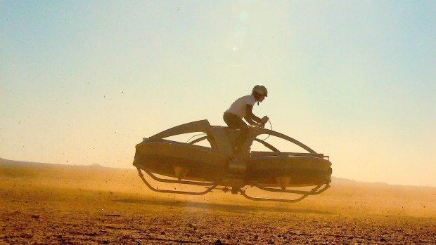 Aero-X hovercraft ou hover-bike